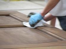death matt finish furniture kayu