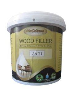 Biocolours Wood Filler adalah produk dempul kayu dengan pelarut air yang mampu menutup pori dengan sempurna dan bisa disemprotkan.