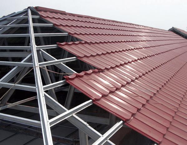 harga atap baja ringan lapis pasir lengkap terbaru februari 2020