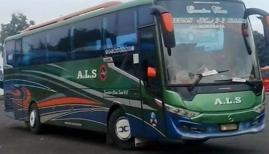 Harga Tiket Bus ALS Terbaru Februari – Maret 2017