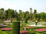 Taman Prancis di Taman Bunga Nusantara