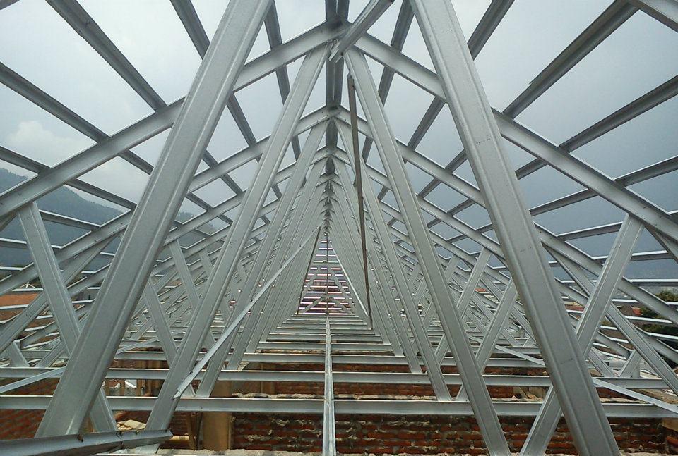 jual baja ringan bekasi harga rangka atap smartruss