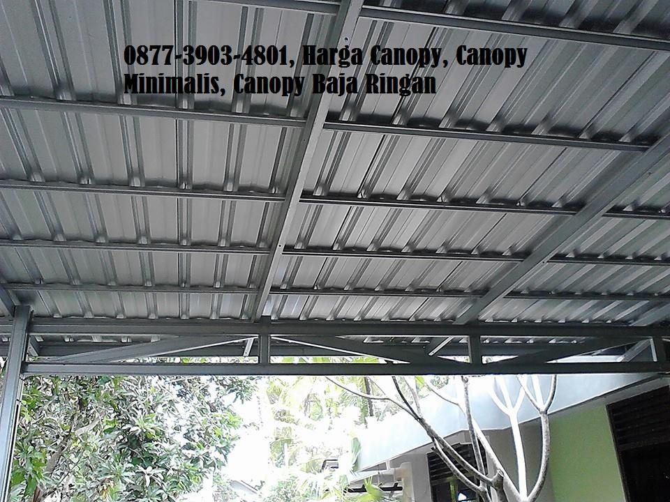 kanopi baja ringan yogyakarta jasa rangka atap biaya pasang