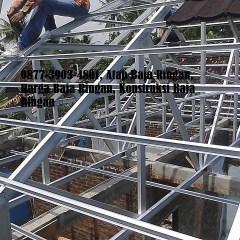 Kanopi Baja Ringan Genteng Pasir Jasa Rangka Atap, Atap Ringan, Biaya Pasang ...