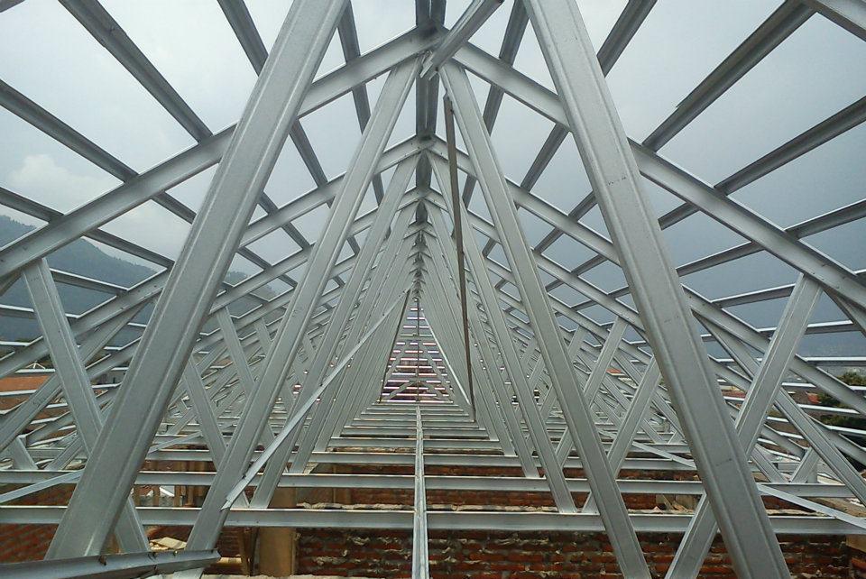 harga baja ringan per batang murah jual rangka atap sni