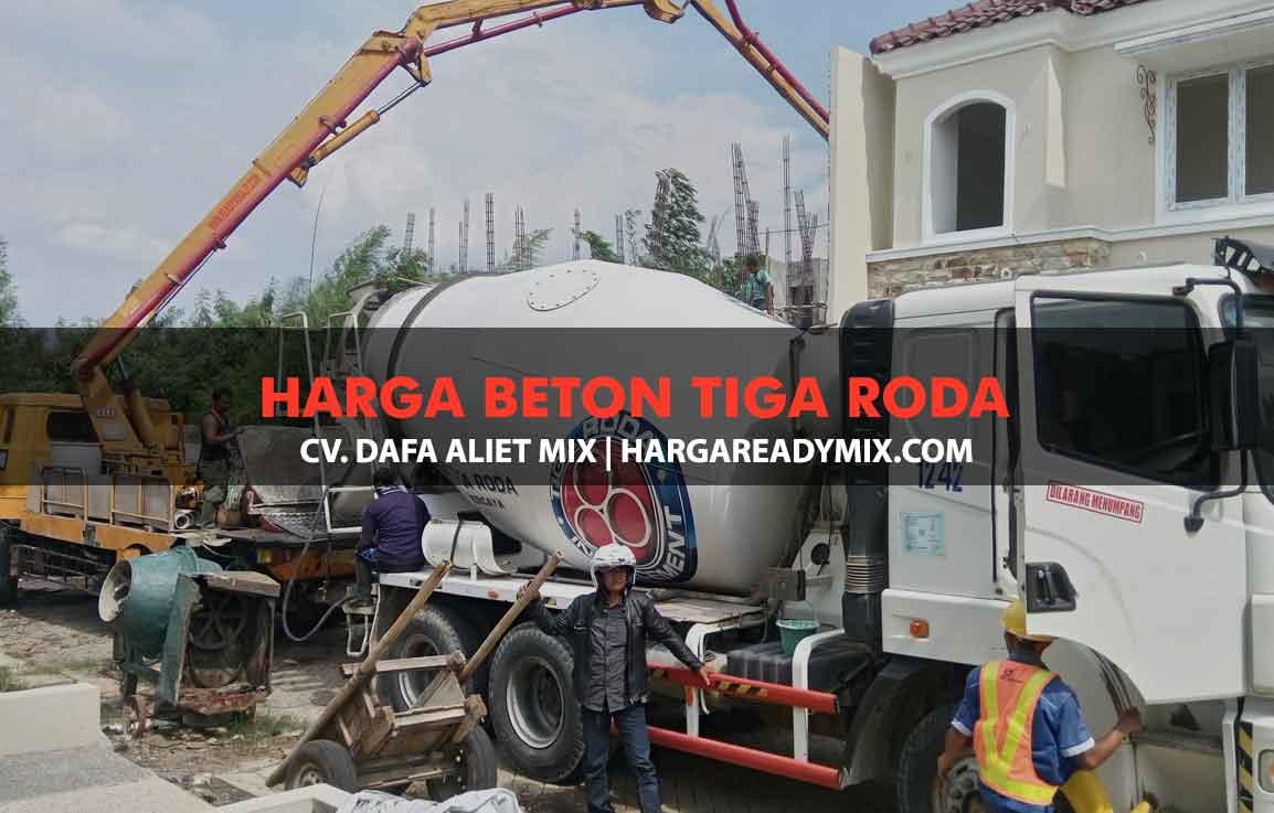 DAFTAR HARGA BETON COR TIGA RODA
