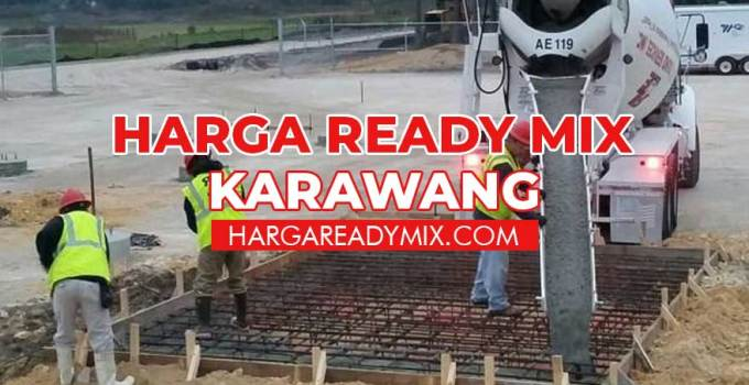 Harga Ready Mix Karawang