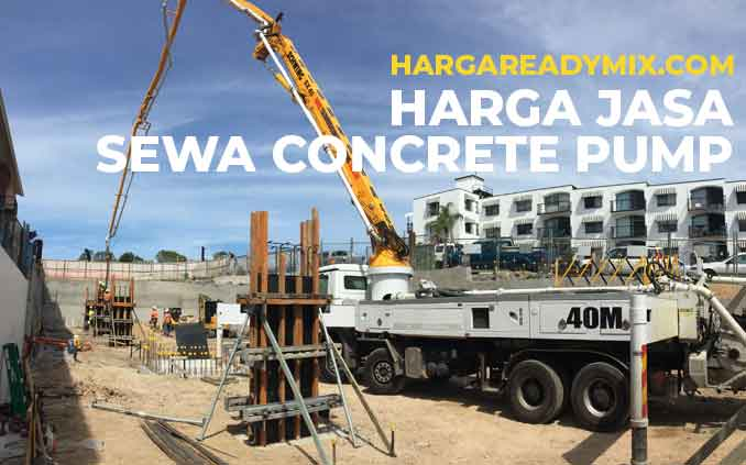 Harga Rental concrete Pump