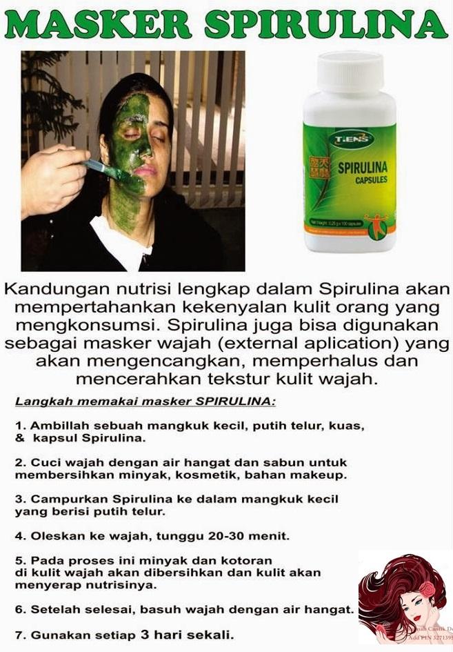 12 Manfaat Masker Spirulina untuk Wajah & Rambut