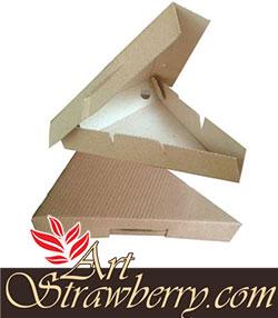 Kotak Pizza segitiga (15x5x20)cm Image