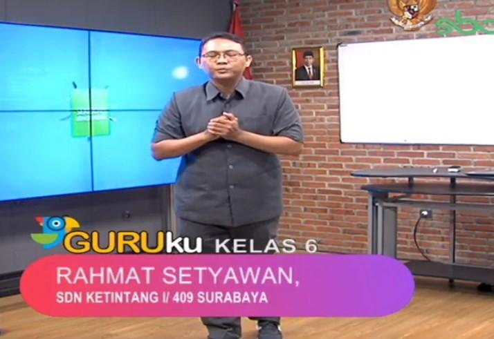 Soal SBO TV 31 Agustus 2020 Kelas 6