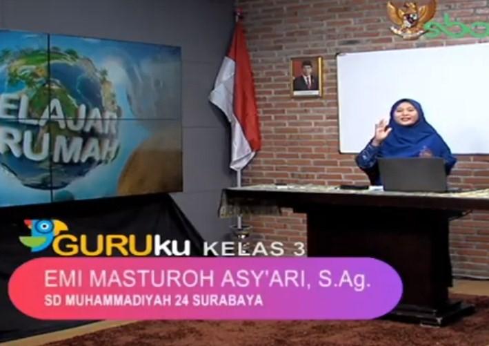 Soal SBO TV 14 Agustus 2020 Kelas 3