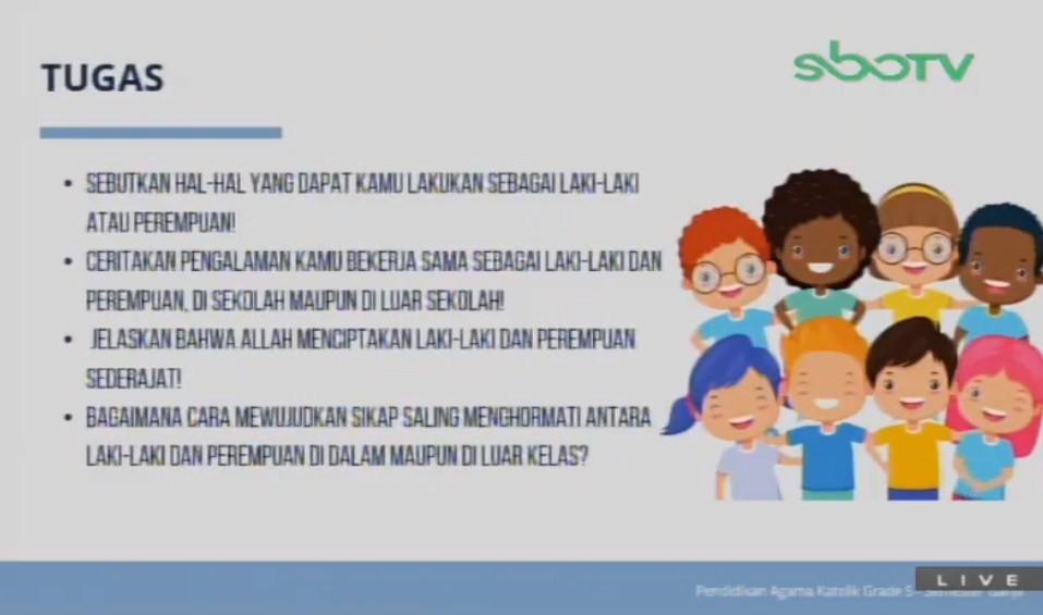 Soal dan Jawaban SBO TV 7 Agustus SD Kelas 5