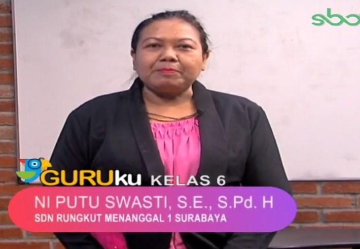 Soal SBO TV 11 September 2020 Kelas 6