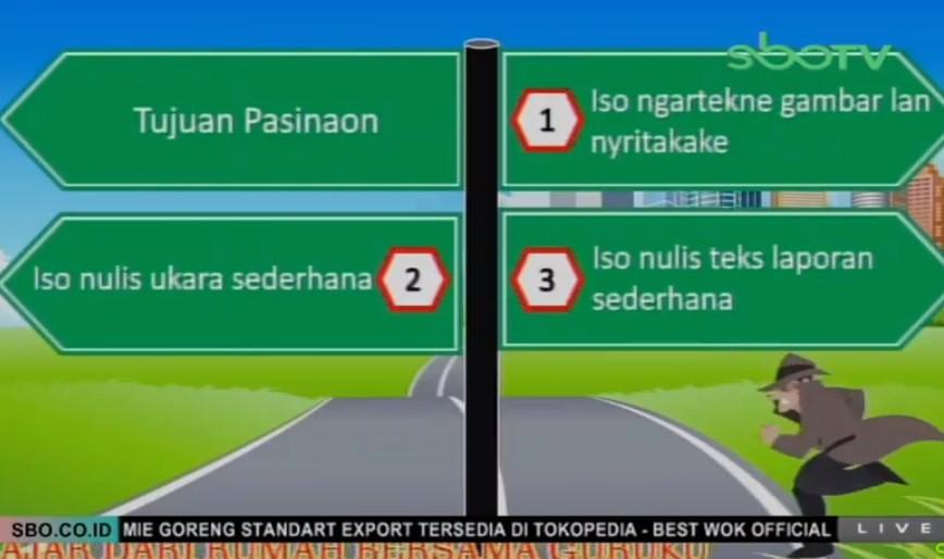 Soal dan Jawaban SBO TV 3 September SD Kelas 2