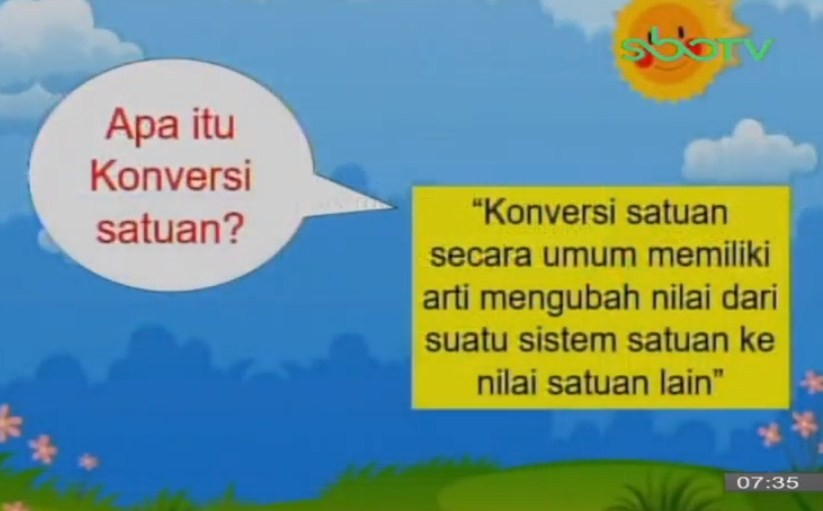 Soal SBO TV 17 September 2020 Kelas 3