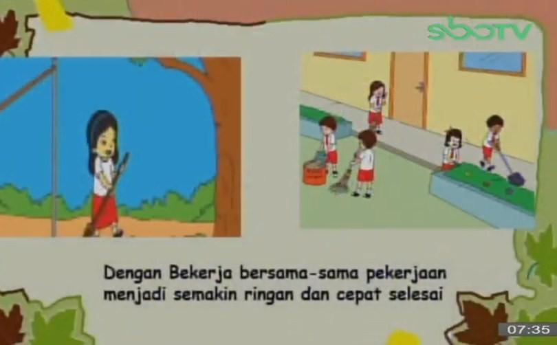 Soal dan Jawaban SBO TV 30 September SD Kelas 3