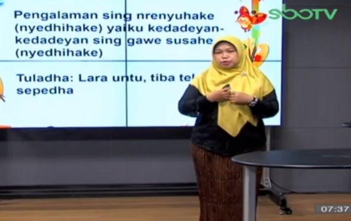 Soal dan Jawaban SBO TV 28 September SD Kelas 3