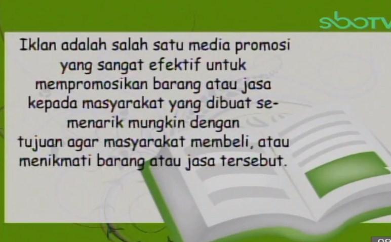 Soal dan Jawaban SBO TV 11 September SD Kelas 5