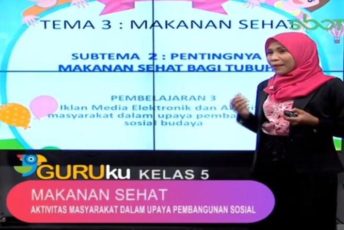 Soal dan Jawaban SBO TV 3 September SD Kelas 5