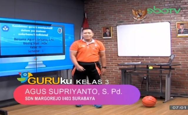 Soal SBO TV 25 September 2020 Kelas 3