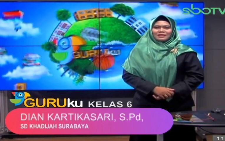 Soal SBO TV 14 September 2020 Kelas 6
