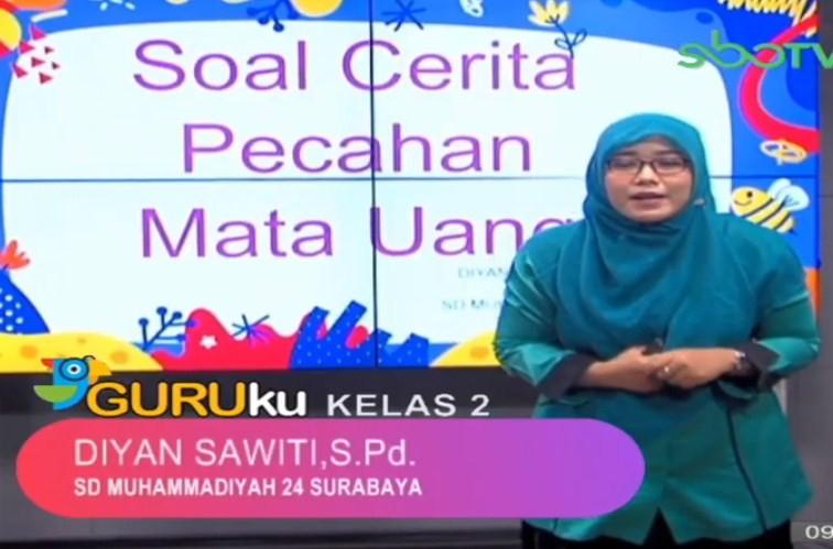 Soal SBO TV 14 Oktober 2020 Kelas 2