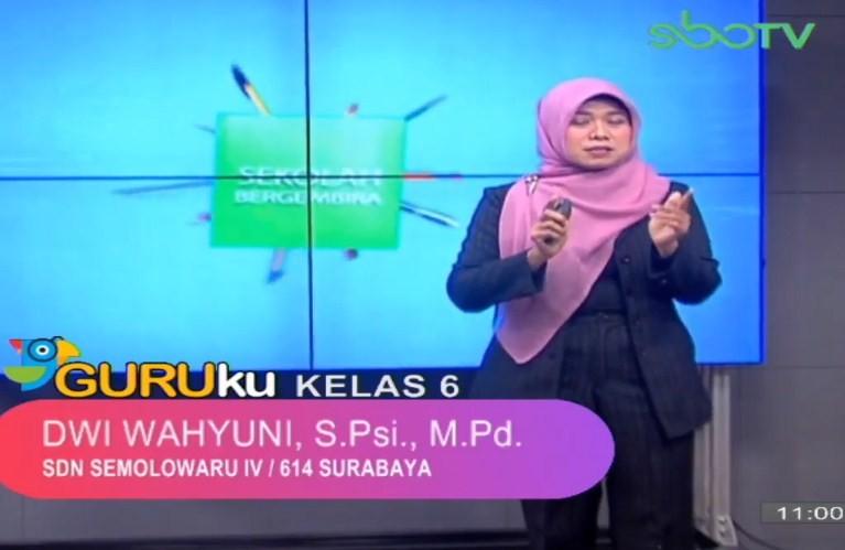 Soal SBO TV 2 Oktober 2020 Kelas 6
