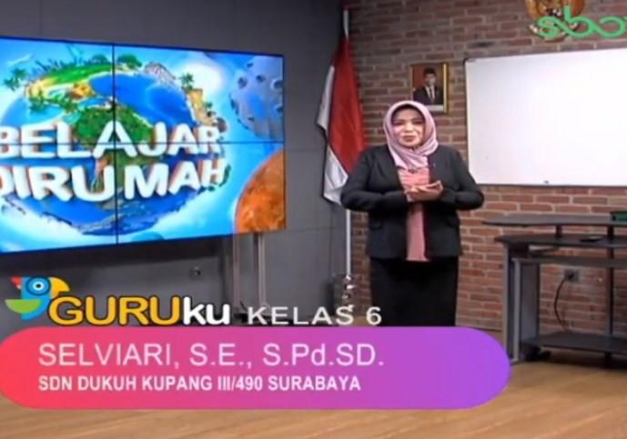 Soal SBO TV 15 Oktober 2020 Kelas 6