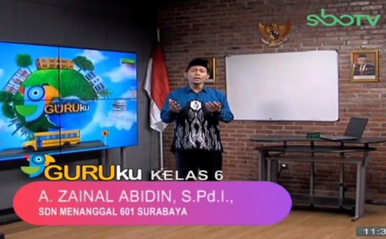 Soal SBO TV 7 Oktober 2020 Kelas 6