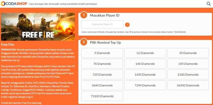 Situs Top Up Diamond FF