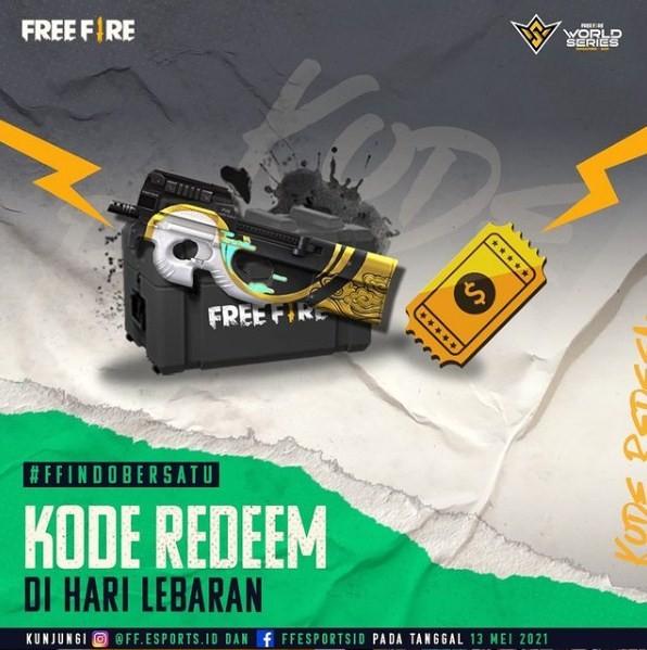 Kode Redeem FF Spesial Lebaran