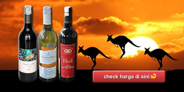 harga wine australia