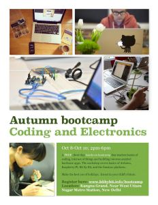 Autumn Bootcamp poster
