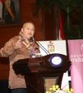 Gubernur Sumsel saat Launching Internastional Musi Triboatton (IMT) di Jakarta