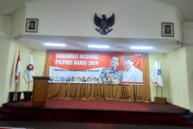 Deklarasi Nasional Pilpres Damai, Kubu Prabowo Tidak Merespon?