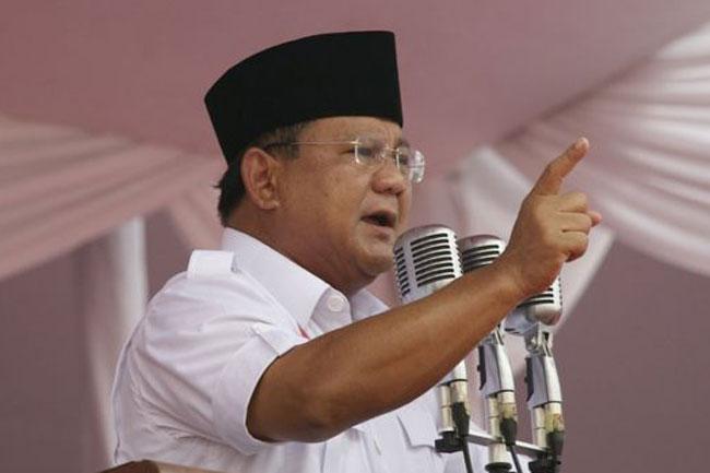 Prabowo: Kabinet Kerja Jokowi Ugal-Ugalan