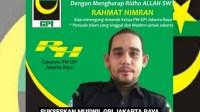 Rahmat Himran Calon Ketua PW GPI Jakarta Raya Akan Rebut Gedung Menteng 58