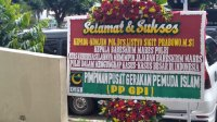 PP GPI Tegaskan Karangan Bunga Untuk Kabareskrim, Simbol Pejabat Amanah