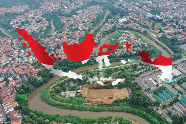 Indonesia Tak Seluas Sungai Ciliwung