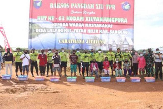Pangdam XII Tanjungpura Kenalkan Potensi Wisata di Kalimantan Barat