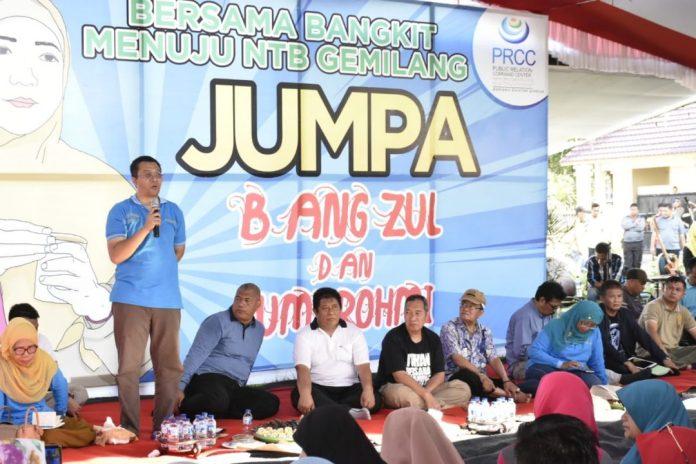 JangZul-Mi, Gubernur Paparkan NTB Gemilang Dihadapan Ribuan Warga Dompu