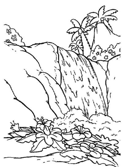 Gambar Pemandangan Hitam Putih Untuk Diwarnai : gambar, pemandangan, hitam, putih, untuk, diwarnai, Gambar, Pemandangan, Hitam, Putih, Harian, Nusantara