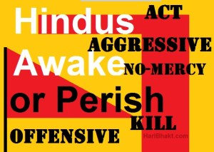 Hindus Get Ready to Kill Enemies