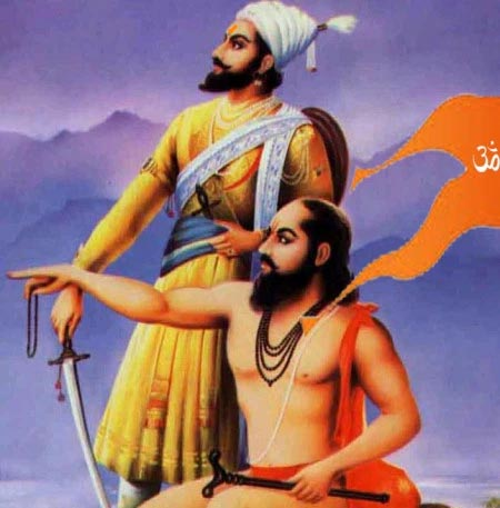 Sant Ramdas and Jijabai made Hindu Lion out of Shivaji