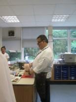 Mr HC with Chicken...