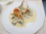 Roasted Chicken Breast with Wild Mushroom Ragout