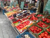 Tomatoes in Etaples Market