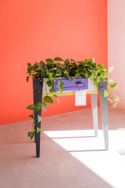 Mueble resultado del taller de abril