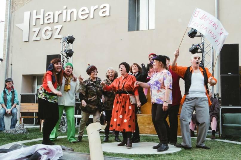 Teatro comunitario-Harinera ZGZ-Hariversario